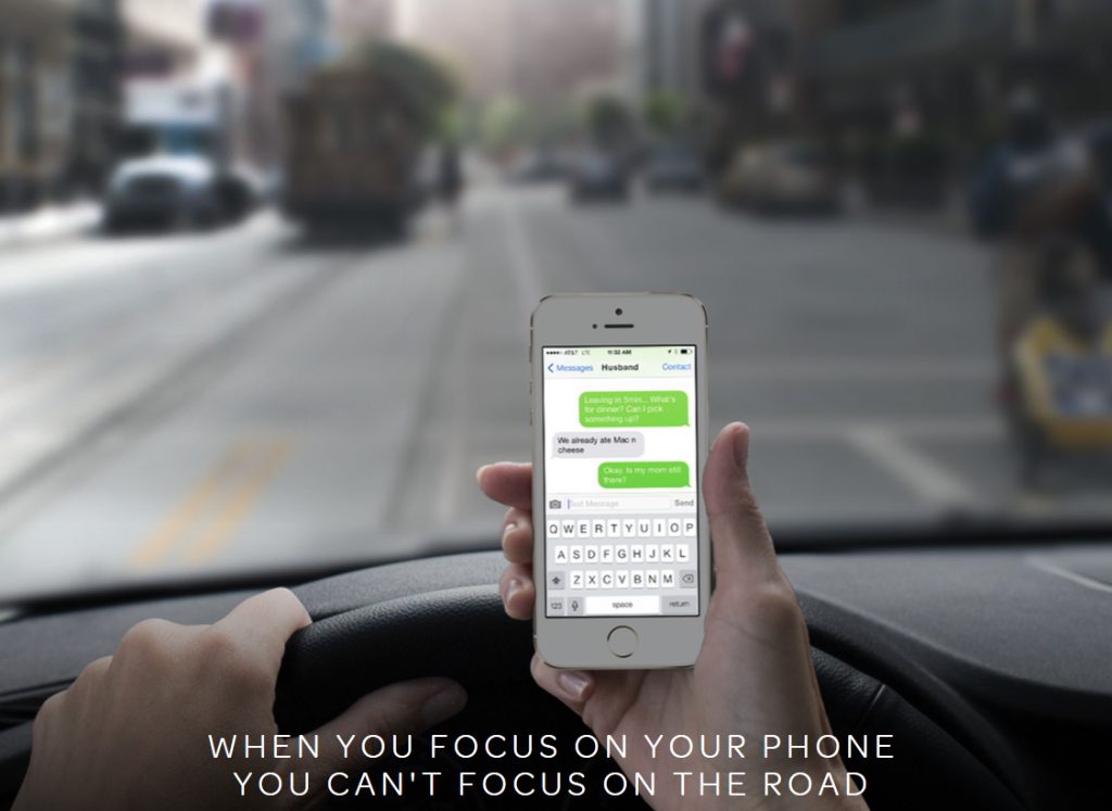 Now you can help fund the future of distracted driving