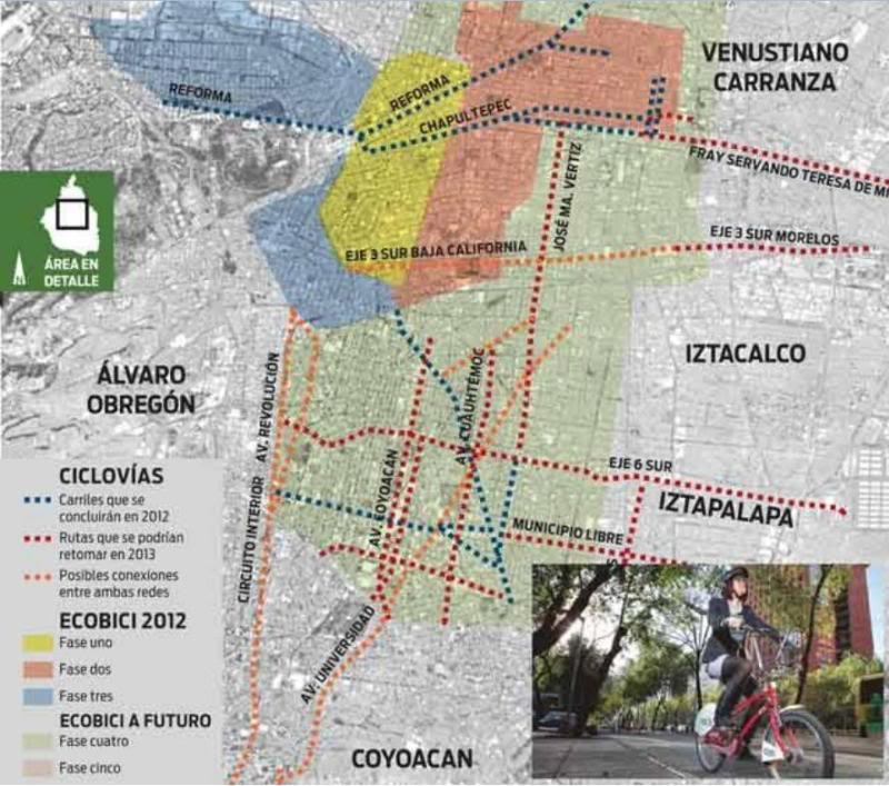 Mexico City bike share getting large expansion - Stop and Move on