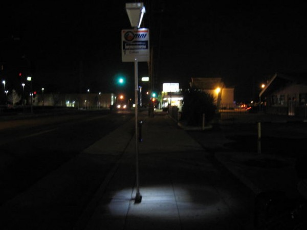 Clovis Gets Grant For Solar Bus Stop Lighting And Move